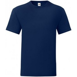 Vêtements Homme T-shirts manches courtes Fruit Of The Loom 61430 Bleu marine