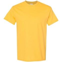 Vêtements Homme T-shirts manches courtes Gildan 5000 Jaune