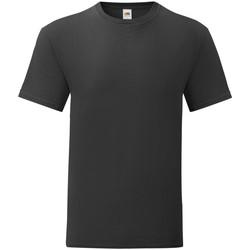 Vêtements Homme T-shirts manches courtes Fruit Of The Loom 61430 Noir