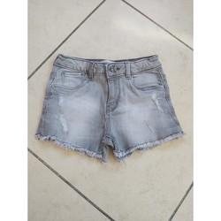Vêtements Fille Shorts / Bermudas 3 Pommes Short zara fille Gris