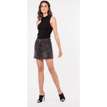 Vêtements Femme Blousons Toxik3 Jupe zippée - Bek Noir