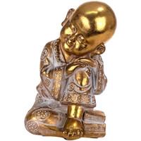 Maison & Déco Statuettes et figurines Signes Grimalt Bouddha Dorado