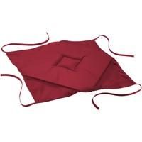 Maison & Déco Galettes de chaise 1001Soleil Des Îles Coussin galette de chaise 36 x 36 x 3.5 cm Bordeaux essentiel Rouge