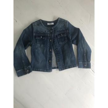 Vêtements Fille Vestes en jean 3 Pommes Veste en jeans 3 pommes Bleu