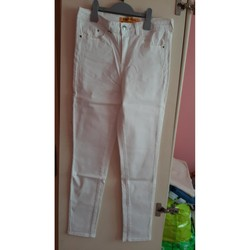 Vêtements Femme Jeans slim Jennyfer jeans blanc Blanc