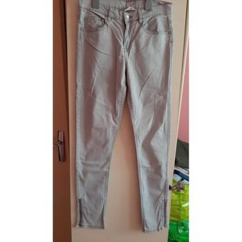 Vêtements Femme Jeans droit H&M jeans gris Gris