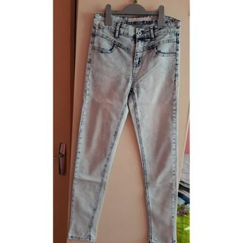 Vêtements Femme Jeans slim Jennyfer jeans délavé Autres