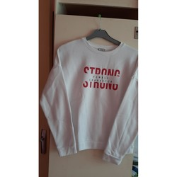Vêtements Femme Pulls Pimkie pull blanc et rouge Blanc