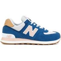 Chaussures Femme Baskets basses New Balance 574 Bleu