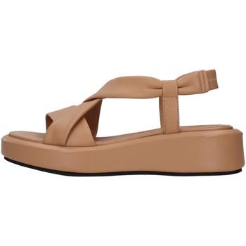 Chaussures Femme Sandales et Nu-pieds Tres Jolie 1946/YARA BEIGE