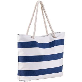 Sacs Femme Sacs porté épaule Baisers Salés Sac de plage Marina Blue Bleu