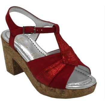 Chaussures Femme Sandales et Nu-pieds Angela Calzature ANSANGC1893rosso rosso