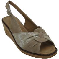 Chaussures Femme Sandales et Nu-pieds Angela Calzature ANSANGC783beige beige