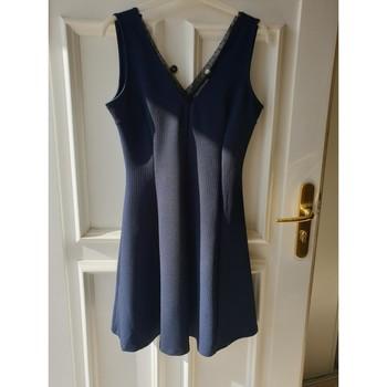 Vêtements Femme Robes courtes Naf Naf Robe femme Bleu