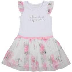 Vêtements Fille Robes courtes Téléchargez lapplication pour Robe tulle manches courtes imprimé floral IRIS Rose