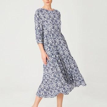 Vêtements Femme Robes longues Smart & Joy Avocat Bleu