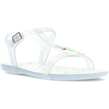 Chaussures Fille Sandales et Nu-pieds Igor SANDALE TRICIA LICORNE S10274 TRANSPARENT