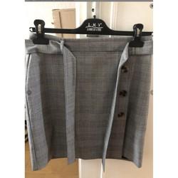Vêtements Femme Jupes Naf Naf Jupe grise Naf Naf Gris