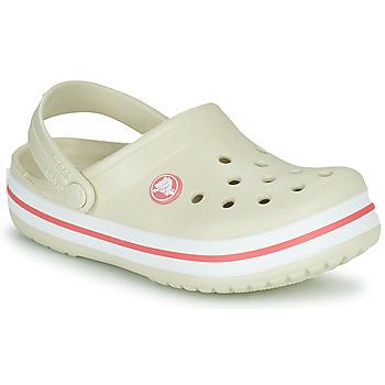 Chaussures Enfant Sabots Crocs CROCBAND CLOG K Beige / Orange