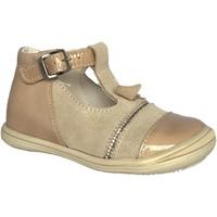 Chaussures Fille Derbies Bopy Bisou beige