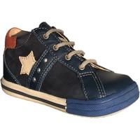 Chaussures Garçon Baskets montantes Bopy Zantoni Bleu