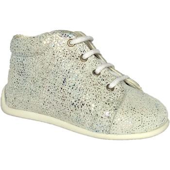 Chaussures Fille Chaussons bébés Bopy Pirouette Argent