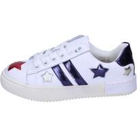 Chaussures Fille Baskets basses Holalà BH13 Blanc