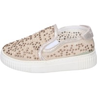 Chaussures Fille Slip ons Holalà BH17 Beige