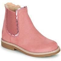 Chaussures Fille Boots Citrouille et Compagnie PRAIRIE Rose