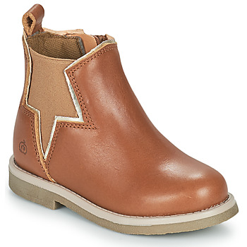 Chaussures Fille Boots Citrouille et Compagnie PRATO Camel