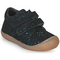 Chaussures Fille Baskets montantes Citrouille et Compagnie PIOTE Bleu