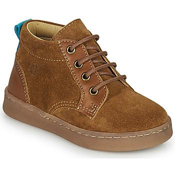 Chaussures Garçon Baskets montantes Citrouille et Compagnie PACELLE Camel