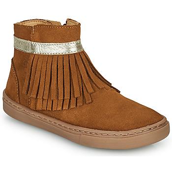 Chaussures Fille Boots Citrouille et Compagnie PIDO Camel