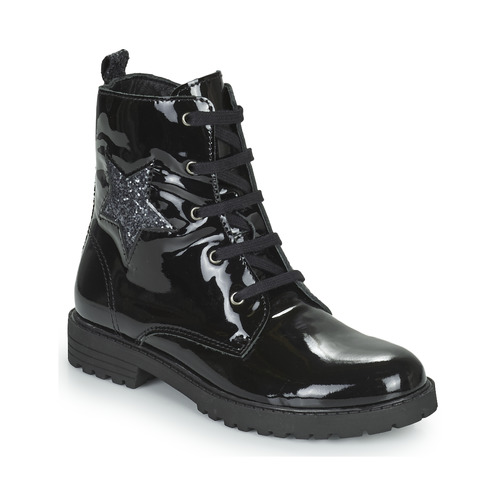 Chaussures Fille Boots Citrouille et Compagnie PICOTI Noir