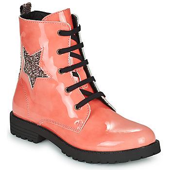Chaussures Fille Boots Citrouille et Compagnie PICOTI Rose