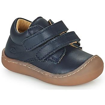 Chaussures Garçon Baskets basses Citrouille et Compagnie PIOTE Marine