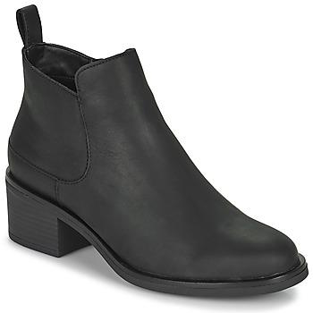 Chaussures Femme Bottines Clarks MEMI ZIP Noir