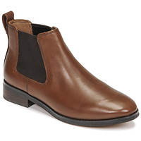 Chaussures Femme Boots Clarks RIA CHELSEA Camel