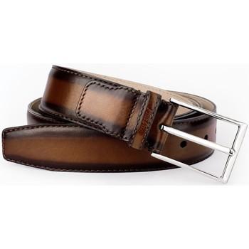 Accessoires textile Homme Ceintures Finsbury Shoes ANTICA Marron
