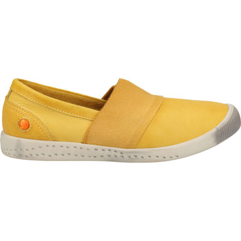 Chaussures Femme Espadrilles Softinos Babouche Yellow