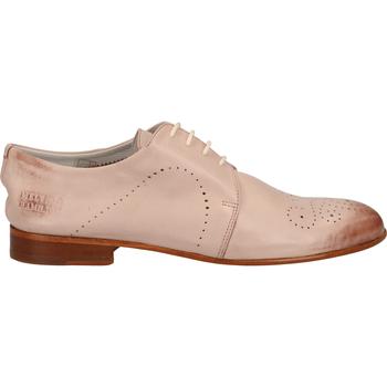 Chaussures Femme Mocassins Melvin & Hamilton Derbies Rose
