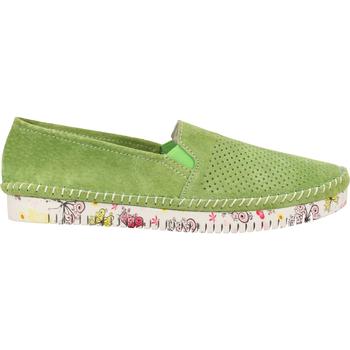 Chaussures Femme Mocassins Cosmos Comfort Babouche Grün