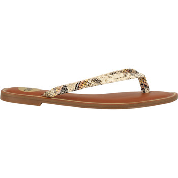 Chaussures Femme Tongs Buffalo Sandales Beige