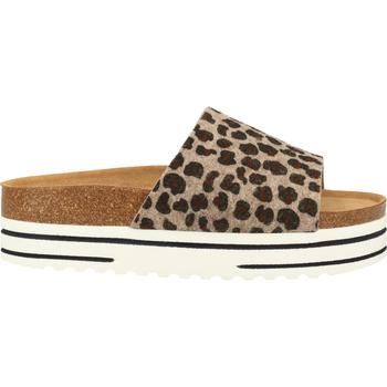 Chaussures Femme Sandales et Nu-pieds Shepherd Pantoufles Leopard