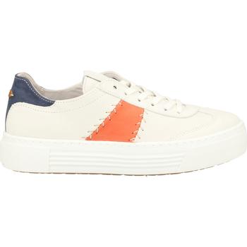 Chaussures Femme Baskets mode Camel Active Sneaker Weiß/Orange