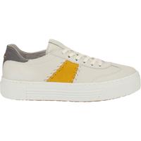 Chaussures Femme Baskets mode Camel Active Sneaker Weiß/Gelb