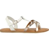 Chaussures Femme Tongs Scapa Sandales Weiß