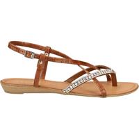 Chaussures Femme Tongs Scapa Sandales Braun