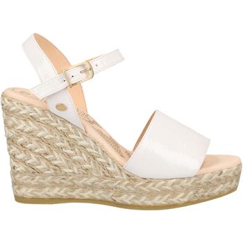 Chaussures Femme Sandales et Nu-pieds Fred de la Bretoniere Sandales Weiß