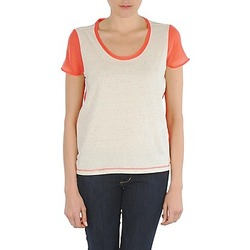 Vêtements Femme T-shirts manches courtes Eleven Paris EDMEE Beige / orange